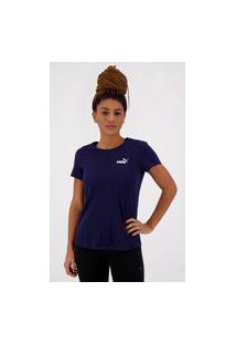 Camiseta Puma Essentials Feminina Marinho