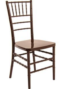 Cadeira De Jantar Tiffany Marrom