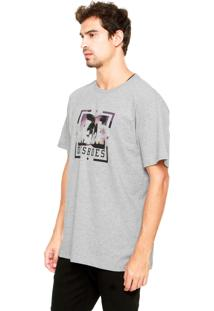 Camiseta Dc Shoes Pacific Palm Cinza