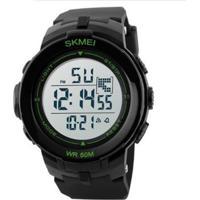 4f1000b4d6a Relógio Masculino Skmei Digital 1127 Pt-Vd