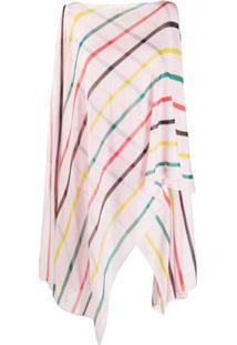 Missoni Blusa De Tricô Com Listras E Sobreposição - Rosa