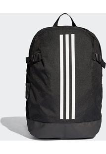 Mochila Adidas Backpack Power 4 Loadspring - Unissex-Preto+Branco