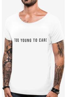 Camiseta Too Young To Care 103762