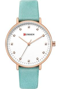Relógio Curren Analógico C9023L - Azul