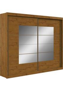 Guarda Roupa Lopas Toronto New 2 Portas Com Espelho Sem Pés Rovere Soft