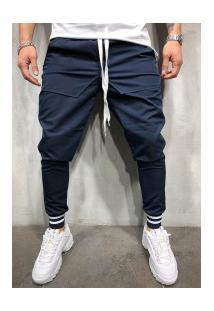 Calça Masculina Swag Berlim - Azul Marinho