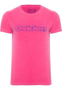 Camiseta Masculina Stone Vintage - Rosa