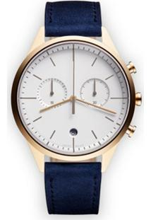 Uniform Wares Relógio 'C39 Chronograph' - Metálico