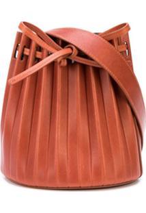 Mansur Gavriel Bolsa Bucket Mini - Marrom