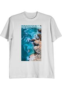 Camiseta Cnx Clothing Mar Branca