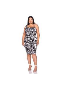 Vestido Boyrá Midi Zebra