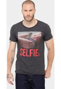 Camiseta Sérgio K. Selfie - Masculino