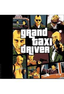 Camiseta Grand Taxi Driver - Feminina