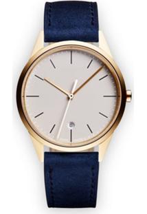 Uniform Wares Relógio 'C36 Date' - Metálico