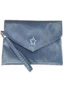 Bolsa Clutch Duccini Queóps Metalizada
