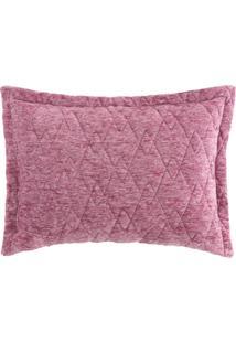 Porta Travesseiro Blend Fashion Concept Bordeaux - 50Cm X 70Cm Rosa
