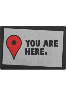 Capacho You Are Here Geek10 - Multicolorido