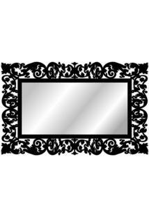 Espelho De Parede 15179P Preto 70X158 Art Shop