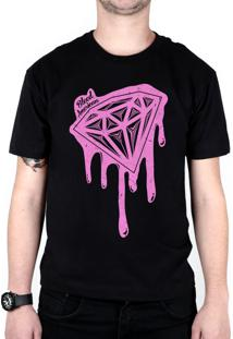 Camiseta Bleed American Shine Diamond Preta