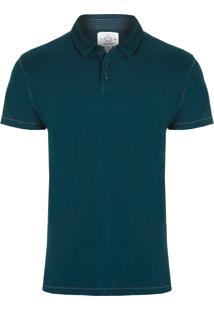 Polo Masculina Jersey - Azul Marinho