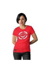 Camiseta Feminina Cellos Corp Premium W Vermelho
