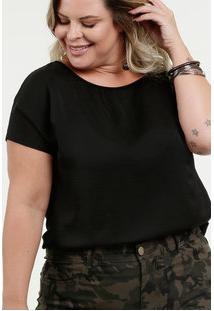 7b55409670dc R$ 69,95. Marisa Blusa Feminina Chiffon Plus Size ...