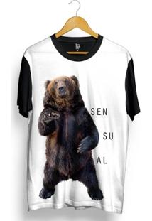 Camiseta Los Fuckers Urso Sensual Full Print - Masculino