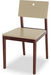 Cadeira Flip 81 Cm 921 Cacau/Marrom Claro - Maxima