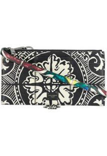 Dolce & Gabbana Bolsa Maiolica Mini Com Estampa - Preto