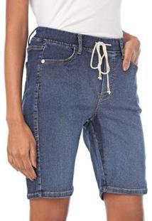Bermuda Jogger Jeans Feminino - Feminino