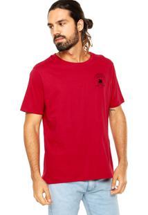 Camiseta Colcci Tag Leão Vermelha