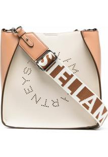 Stella Mccartney Stella Logo Shoulder Bag - Neutro