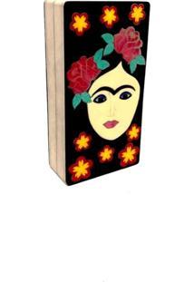 Bolsa Clutch Frida Flowers