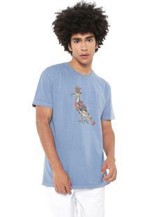 Camiseta Reserva Old School Azul