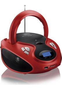 Rádio Portátil 20W Boombox Cd/Usb/Sd/Fm/Aux Sp181 - Multilaser - Unissex