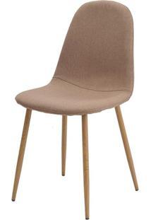 Cadeira Jacob Cor Caqui Pes Palito Madeira Clara - 38587 - Sun House