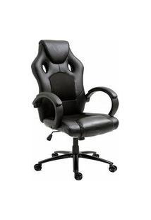 Cadeira Gamer Husky Gaming Snow Limited Edition, Preto, Cilindro De Gás Classe 4, Base Em Metal, Roda Em Nylon - Hgma054