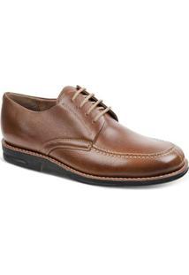 Sapato Social Derby Sandro Moscoloni Riverside Masculino - Masculino-Caramelo