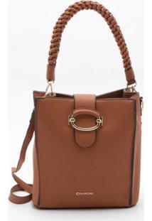 Bolsa Bucket Bag Camel - M