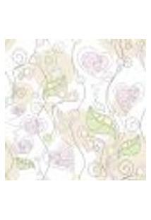 Papel De Parede Autocolante Rolo 0,58 X 3M - Floral 210131