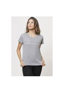 Camiseta Jay Jay Basica Frinally Cinza Mescla Dtg