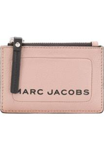 Marc Jacobs Porta-Moedas The Textured Box - Neutro