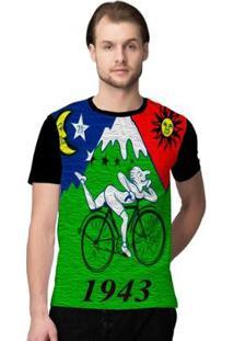 Camiseta Stompy Psicodelica20 - Masculino-Verde