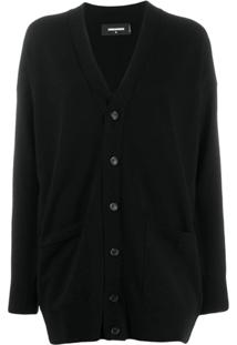 Dsquared2 Cardigan Oversized Preto