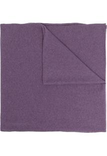 Pringle Of Scotland Cachecol De Cashmere E Tricô - Roxo