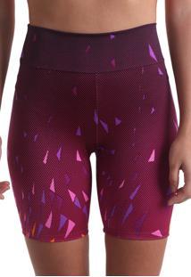 Shorts Curto Geometric - Rosa Claro - Praaiah - Rosa - Feminino - Dafiti