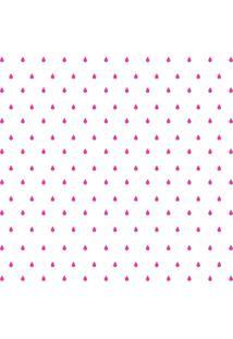 Adesivo De Parede Gotinhas Pinks Para Quarto 151Un Cobre 3M2 - Pink - Dafiti