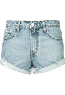 Nobody Denim Short Esportivo - Azul