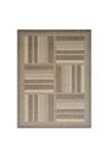 Tapete Deck I Retangular Polipropileno 150 X 200 Cm Marrom