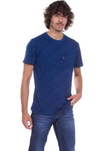 Camiseta Levis Sunset Pocket Azul